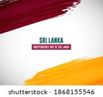 happy independence day of sri... | Shutterstock .eps vector #1868155546