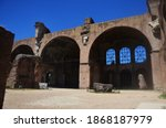 The Basilica Of Maxentius And...