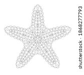 Ornate Stylized Starfish For...