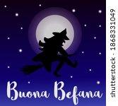 buona befana   italian...   Shutterstock .eps vector #1868331049