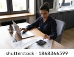 Bookkeeping. Busy Millennial...