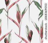 foliage seamless pattern ... | Shutterstock .eps vector #1868369053