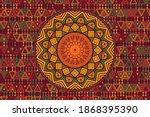 Africa Mandala Circular Pattern ...
