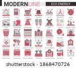 Eco Energy Complex Concept Flat ...