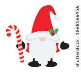 christmas gnome clip art image | Shutterstock .eps vector #1868566456