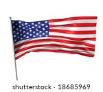 usa flag | Shutterstock . vector #18685969
