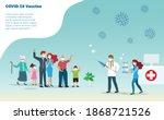covid 19 coronavirus... | Shutterstock .eps vector #1868721526