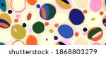 colorful modern hand drawn...   Shutterstock .eps vector #1868803279