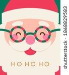 santa claus illustration for... | Shutterstock .eps vector #1868829583