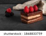 Homemade Chocolate Cake With...