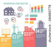 construction engineering and... | Shutterstock .eps vector #186883778