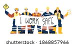 construction or factory... | Shutterstock .eps vector #1868857966