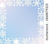 winter background. christmas...   Shutterstock .eps vector #1868879323