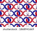 seamless snakes pattern in...   Shutterstock .eps vector #1868941669