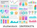 bundle infographic ui  ux  kit...   Shutterstock .eps vector #1869006376