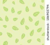 seamless pattern of stylized... | Shutterstock .eps vector #186903794