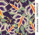 Raster Seamless Pattern With...