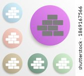 bricks badge color set. simple...