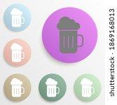 beer badge color set. simple...