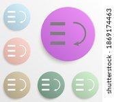 bars graphic descending badge...