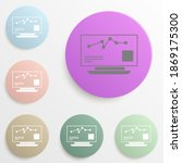 stock market monitoring badge...