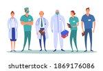 cartoon color characters people ... | Shutterstock .eps vector #1869176086
