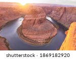 Horseshoe Bend On Colorado...