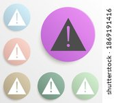 exclamation mark badge color...