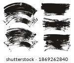 flat fan brush regular curved... | Shutterstock .eps vector #1869262840