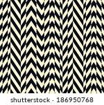 seamless vector ethnic striped... | Shutterstock .eps vector #186950768