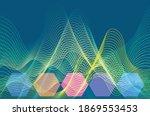 the lattice  mountain like... | Shutterstock .eps vector #1869553453