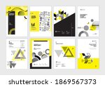 cover design templates of... | Shutterstock .eps vector #1869567373