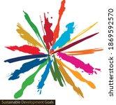for sustainable development... | Shutterstock .eps vector #1869592570
