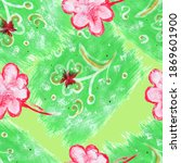 watercolor seamless pattern...   Shutterstock . vector #1869601900