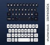 set of keyboard of smartphone....