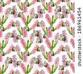 abstract seamless texture... | Shutterstock . vector #186961454