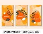 abstract modern hipster poster... | Shutterstock .eps vector #1869633109
