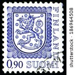 finland   circa 1975  a stamp...   Shutterstock . vector #186964508