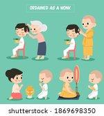 cute cartoon present how to...   Shutterstock .eps vector #1869698350