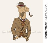 Fashion Character Of Camel...