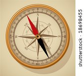 compass. vector. | Shutterstock .eps vector #18698455