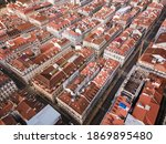 Beautiful Aerial View Of Lisbon ...