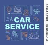 car service word concepts...