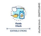 fluids check concept icon....   Shutterstock .eps vector #1869916840