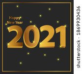 background 2021 happy new year...   Shutterstock .eps vector #1869930436