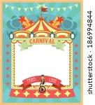 carnival template vector... | Shutterstock .eps vector #186994844