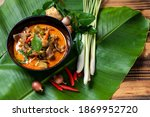 Thai Beef Red Curry. Thailand...