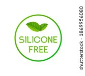 silicone free icon sign. vector ...   Shutterstock .eps vector #1869956080