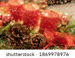 Blurred Christmas Background...