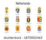 coat of arms of the province of ... | Shutterstock .eps vector #1870002463